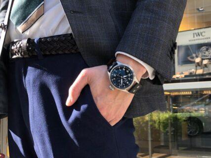 初代パイロットウォッチをベースとした男の高級機械式時計!!IWC ビッグ・パイロット・ウォッチ!!