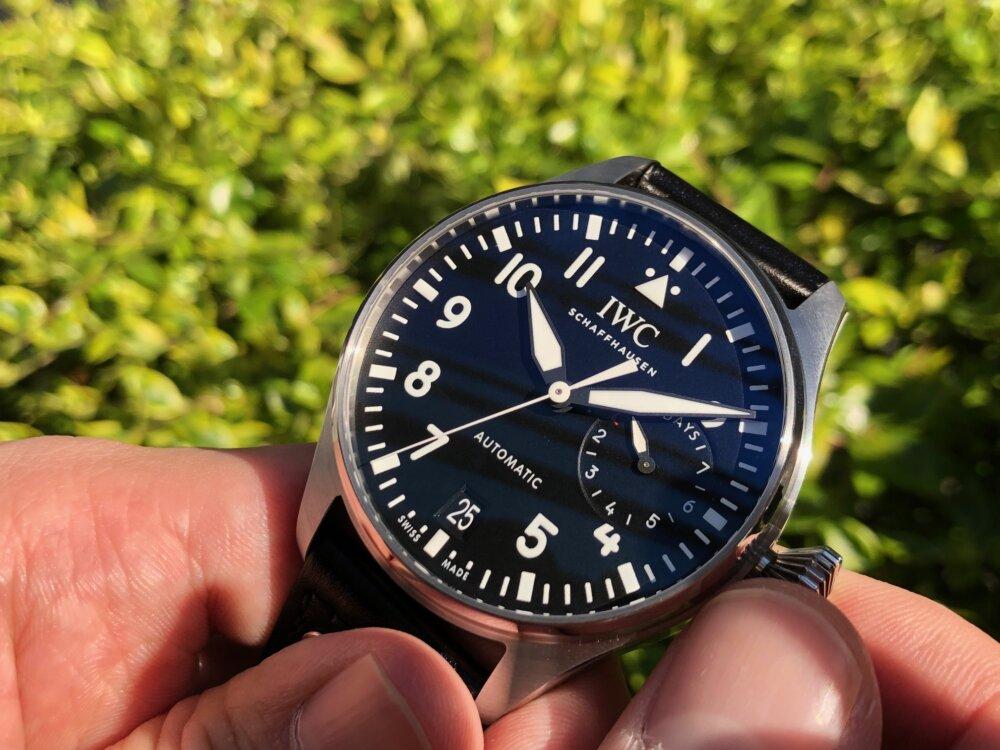 初代パイロットウォッチをベースとした男の高級機械式時計!!IWC ビッグ・パイロット・ウォッチ!!-IWC -image8