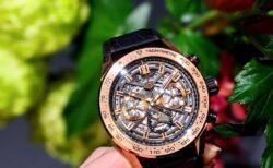 金無垢時計をスポーティーにも着けたい タグ・ホイヤー カレラキャリバーホイヤー02クロノグラフ