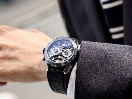 タグホイヤーのコンセプトである「手の届く贅沢」を表した カレラ キャリバーホイヤー02T トゥールビヨン