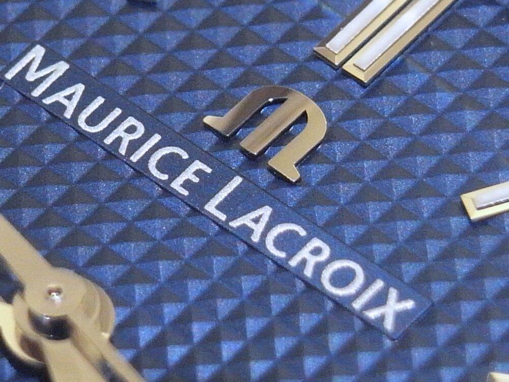 クルドパリの装飾された文字盤が美しい、モーリスラクロア「アイコン オートマティック」-MAURICE LACROIX -R1169730
