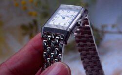 女性のために開発された腕時計 ジャガールクルト レベルソ・クラシック・スモール・デュエット