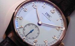 アンティークな雰囲気が心惹かれる!IWC 新作モデル「ポルトギーゼ・オートマティック 40」