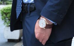 洗練された傑作腕時計!!IWC ポルトギーゼ・オートマティック 18Kレッドゴールドモデル!!