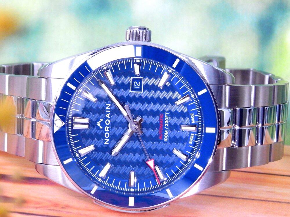 こだわりのスイス時計ブランド 20万円台で手に入れる!NORQAIN(ノルケイン)-NORQAIN -R1178534