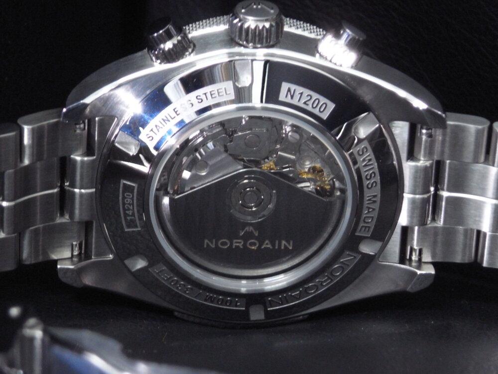NORQAIN(ノルケイン)スポーティなメカクロノ「アドベンチャー スポーツ クロノ オート」-NORQAIN -R1178633