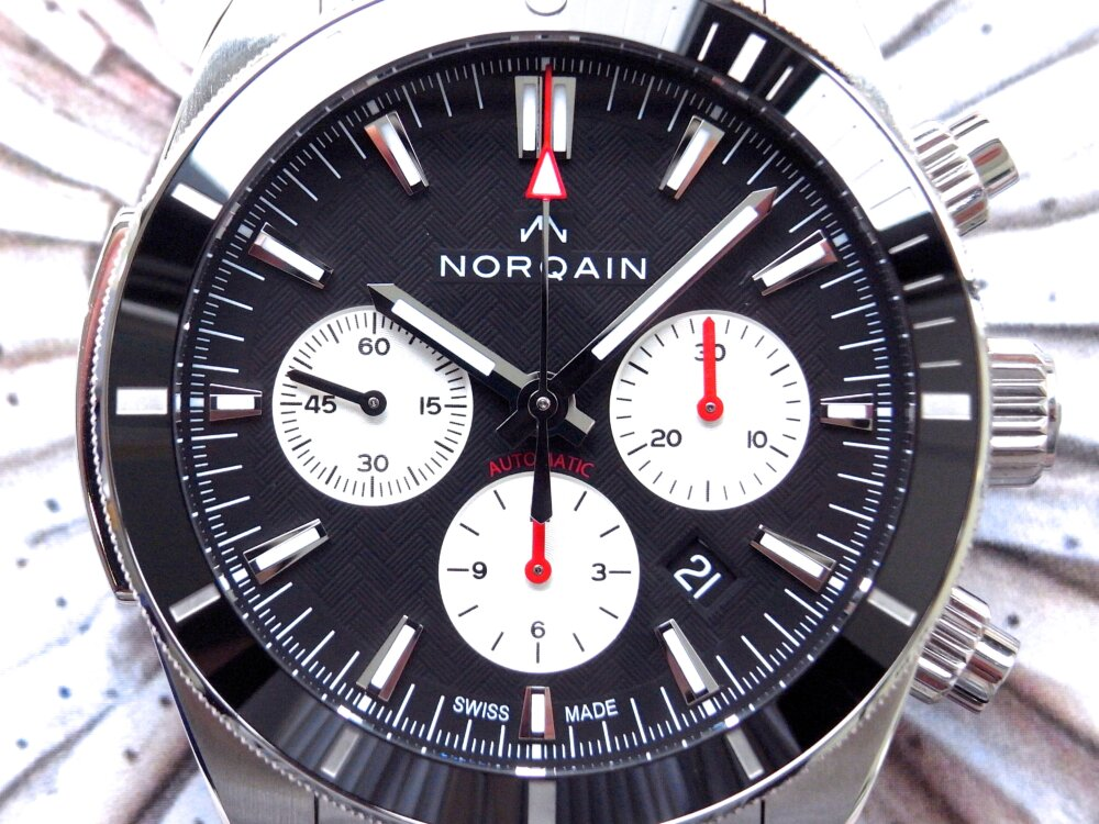 NORQAIN(ノルケイン)スポーティなメカクロノ「アドベンチャー スポーツ クロノ オート」-NORQAIN -R1178668-1