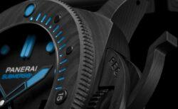 ブラックとブルーのコントラストがカッコいい!サブマーシブル カーボテック™  PAM00960