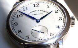 懐中時計からデザイン要素を多数取り入れた、A.ランゲ&ゾーネ 1815