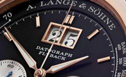 歴史的名機と称される手巻き式クロノグラフ「ダトグラフ・アップ/ダウン」A.ランゲ&ゾーネ