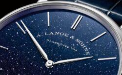"""""""美し過ぎる"""" 特別なブルーのダイヤルを採用した 、通称「アベンチュリン」 A.ランゲ&ゾーネ"""