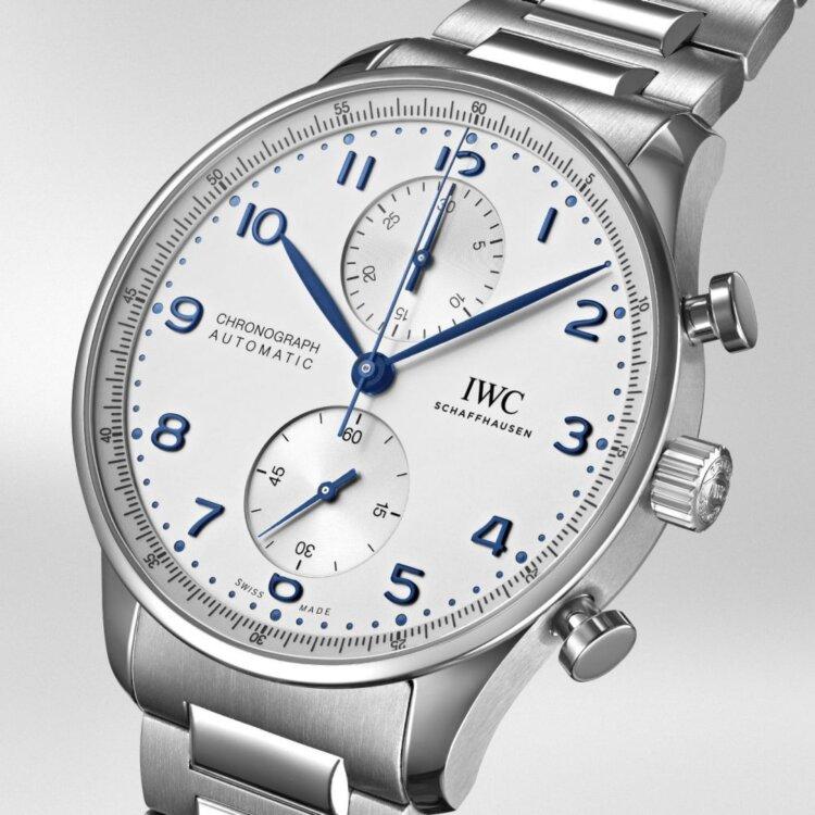 IWC2020年新作 ポルトギーゼ・クロノグラフに初のブレスレットモデル IW371617 が発表-IWC -2078280.transform.buying-options_watch_1000
