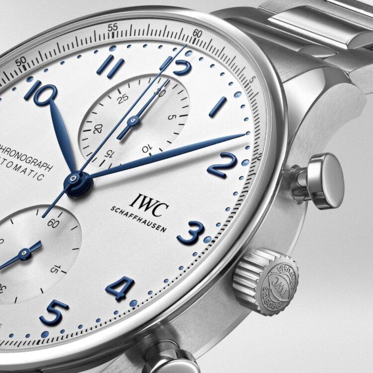 IWC2020年新作 ポルトギーゼ・クロノグラフに初のブレスレットモデル IW371617 が発表-IWC -2078281.transform.buying-options_watch_1000