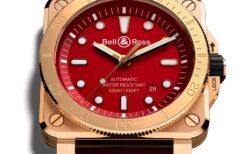 ベル&ロス初の日本限定モデル! BR 03-92 Diver Burgundy Bronze