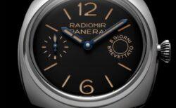 オリジナルに敬意を払って再現された、パネライ「ラジオミール エイトデイズ – 45mm (PAM00992)」