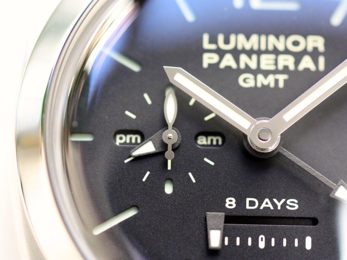 速報!奇跡の入荷!パネライの傑作モデル「ルミノール 1950 8デイズ GMT(PAM00233)」-PANERAI -IMG_1130