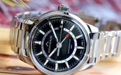 ノルケイン 2020年新作!!高いコストパフォーマンスを誇るスイスの機械式時計!フリーダム 60 GMT!!