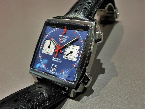 通な人々に好まれる角形時計の傑作!タグホイヤー 栄光のモナコ-TAG Heuer -CIMG7307