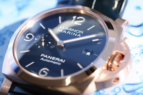 パネライ ゴールドテック™ケースを採用した、「ルミノール マリーナ 」 - PANERAI
