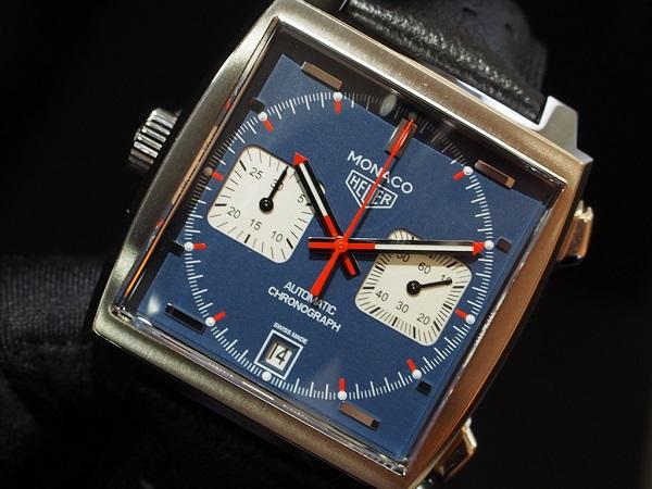 通な人々に好まれる角形時計の傑作!タグホイヤー 栄光のモナコ-TAG Heuer -P7261094