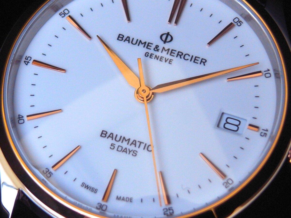 ゴールドとステンレススティールのバイカラーが美しいモデル「クリフトン ボーマティック」 - BAUME&MERCIER その他