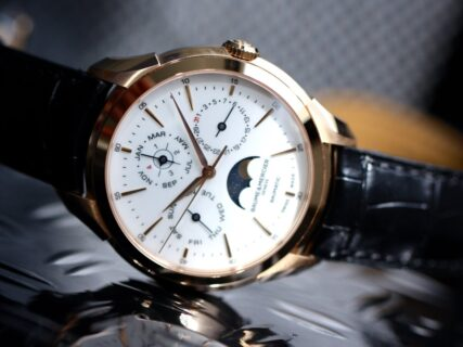ボーム&メルシエ渾身の複雑時計「クリフトン ボーマティック パーペチュアル カレンダー」