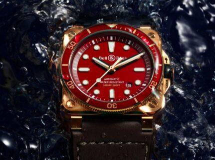 人気のダイバーブロンズコレクションからニューモデル「ベル&ロス BR 03-92 DIVER RED BRONZE」