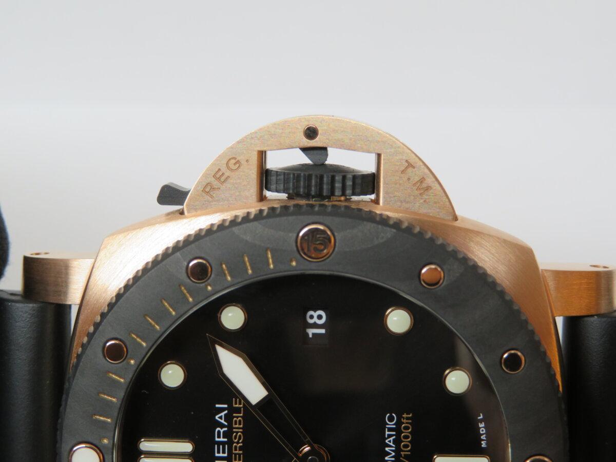 パネライ 2つの革新的な素材のコラボレーション!サブマーシブル ゴールドテック™ オロカーボ(PAM01070) - PANERAI その他