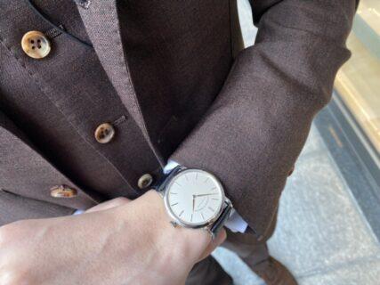 2針のみのシンプルなデザインが美しい A.ランゲ&ゾーネ『サクソニア・フラッハ』