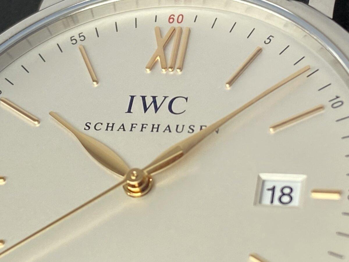 シンプルで上品なデザイン IWC『ポートフィノ・オートマティック』 - IWC