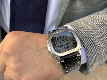 【G-SHOCK】初代モデルをオマージュした『GMW-B5000』