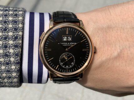 世界五大時計ブランド!ランゲ&ゾーネ 格好良さと上品を兼ね備えたサクソニアムーンフェイズ
