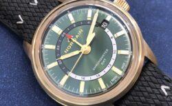 世界限定300本 ノルケインからブロンズ時計が出ました!!