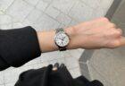 フランス語で「待ち合わせの時間」という意味を持つ女性の為の自動巻き時計