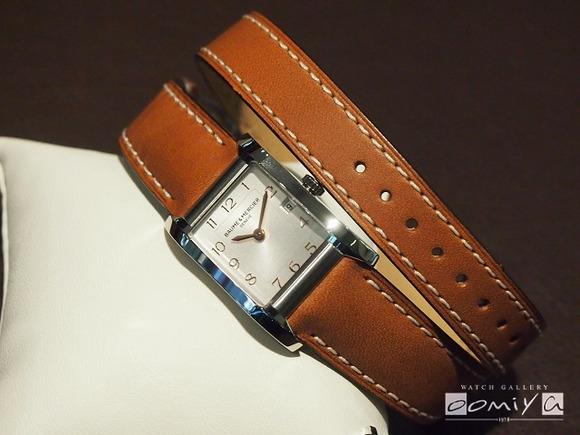 ボーム&メルシエ 2013年新商品 HAMPTON LADY (M0A10110)