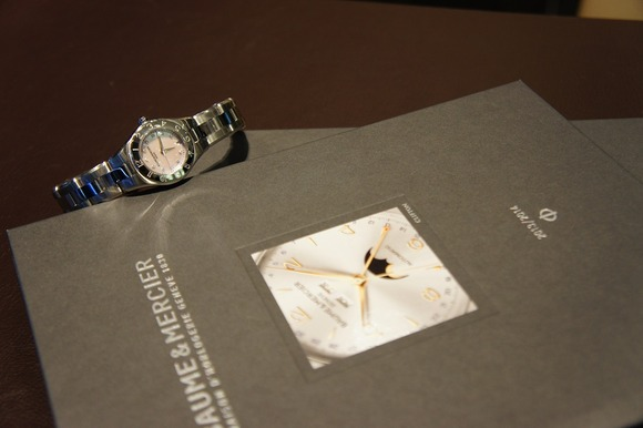 *BAUME & MERCIER >> リネア ジャパンリミテッド/ MOA10121