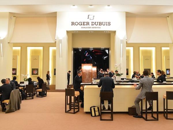 ROGER DUBUIS 2015年SIHH ブースのご紹介。
