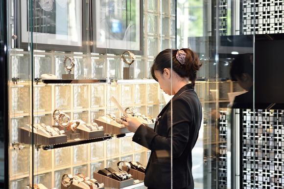 ラルフローレン本日の入荷品 (2014年新製品) スティラップ・プティリンク  スノーフォール ダイヤモンド ケース (RLR0040002)
