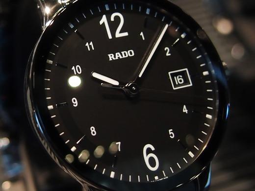 今日のRADOはハイテクセラミックスとのコンビ、セントリックス-お知らせ -6e0a604d-s