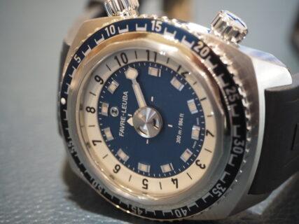 【ファーブル・ルーバ】この時計は何時を指しているか分かりますか?「レイダー・ハープーン 42」