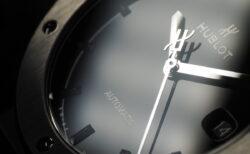 漆黒に魅せられる エレガンスの極み ウブロ「クラシック・フュージョン チタニウム ブラックシャイニー」