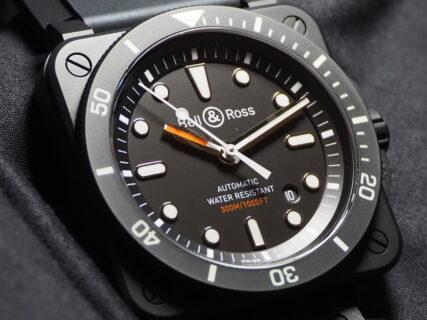 「視認性」「機能性」「高精度」「防水性」4つの基本原理を元にプロフェッショナルに捧ぐ 本格派ダイバーズウォッチ ベル&ロス「BR 03-92 DIVER BLACK MATTE」