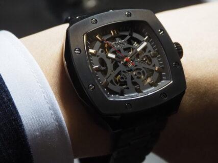 イタリア発祥のファッション時計 武骨な将軍の意味を持つ ワールドリミッテッドの限定モデル オッソイタリィ「ジェネラーレ GT04」