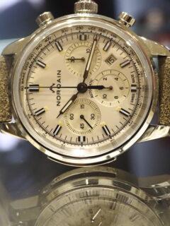 60S'古き良き時代の時計を現代に復刻!?ノルケイン 「フリーダム 60 クロノ オート」