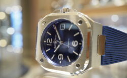 あの機械的なデザインをスタイリッシュに生まれ変わらせた?ベル&ロス「BR 05 BLUE STEEL」