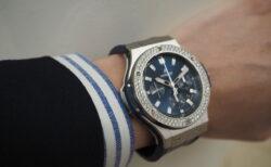 ウブロフェア開催中!ダイヤの輝きに魅せられる「ビッグ・バン スチール ブルー ダイヤモンド」301.SX.7170.LR.1104
