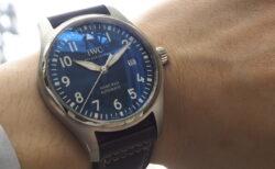 """美しいブルー文字盤が空に想いを馳せる「パイロット・ウォッチ・マーク XVIII """"プティ・プランス""""」"""