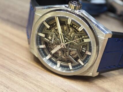 スケルトン仕様の機械式時計を楽しむならこのモデルは外せない「デファイ クラシック」