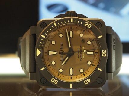 夏に格好良くキメたい男時計にはBell&Rossの2021年新作 BR0392-D-KA-CE/SRB!
