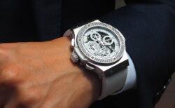 夏に映える!オールホワイトな腕時計 ウブロ「アエロ・バン オールホワイト ダイヤモンド」